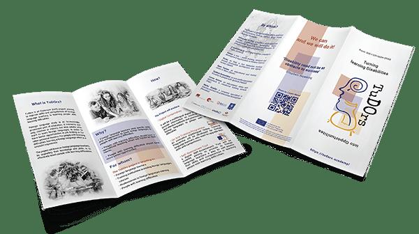 material brochure